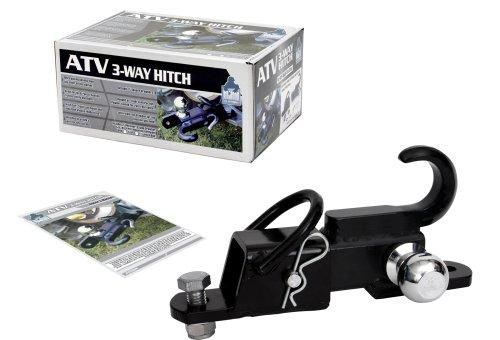 Komodo ATV ATV3WH1782 ATV 3-Way Receiver Hitch with 1-7/8