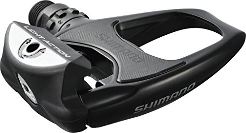 Clipless Road Bicycle Pedals (Spd-Sl Racing Pedal Shimano PD-R 540LA Sided Black 9 / 16 - \ EPDR540LA without Reflector by Shimano)