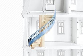 Playmobil 6455 - escalera de caracol para Casa de muñecas romántica (5303): Amazon.es: Juguetes y juegos