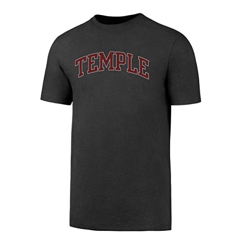 NCAA Temple Owls Men's OTS Rival Tee, Charcoal, X-Large