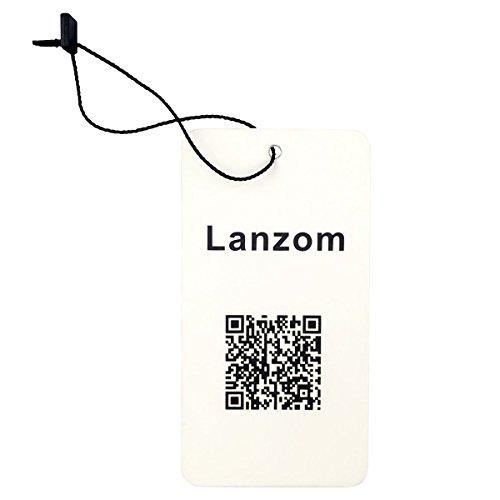 Lanzom® Womens Large Brim Floppy Foldable Roll up Beach Cap Sun Hat UPF 50+ (Beige)