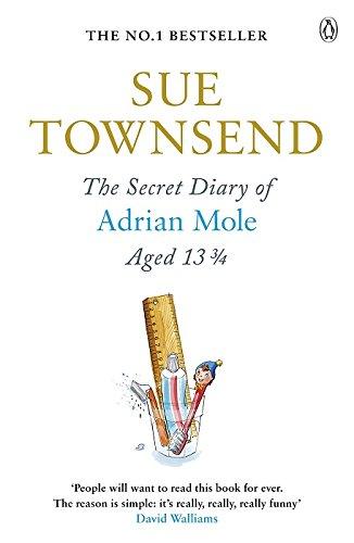 30th Anniversary Edition The Secret Diary of Adrian Mole Aged 13 3//4 30th Anniversary Ed