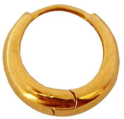 Miami Jewellery Gold Hoop Earrings For Men Stylish Boys Boyfriend