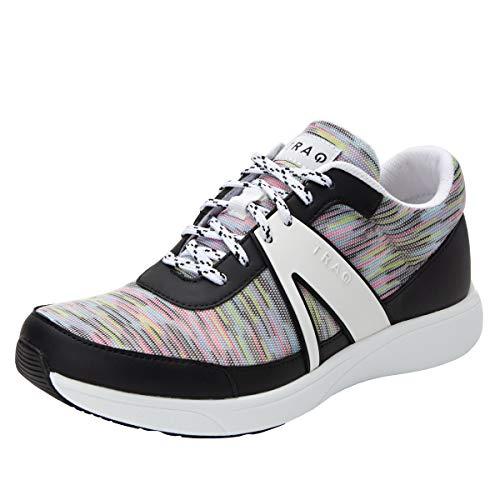 TRAQ BY ALEGRIA Qarma Womens Smart Walking Shoe Horizons White 38 EU