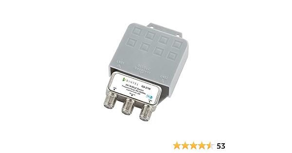 Dintel - Conmutador Diseqc 2x1 de 950-2400 MHz Exterior