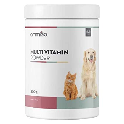 Animigo Multivitaminas En Polvo para Perros y Gatos - Ideal ...