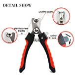 GuaziV Nail Clippers for Dogs Pet Nail Trimmer, Pet