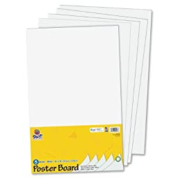 Pacon Half-size Sheet Poster Board (PAC5443)