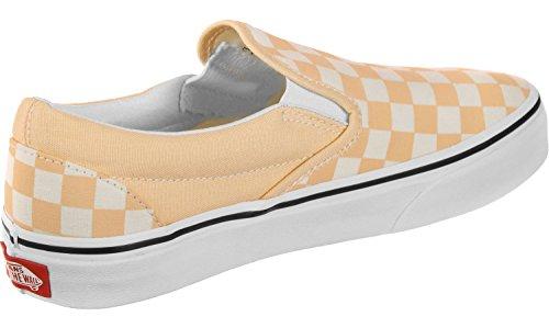 White Shoes Classic Slip On Vans Orange YwF80axq
