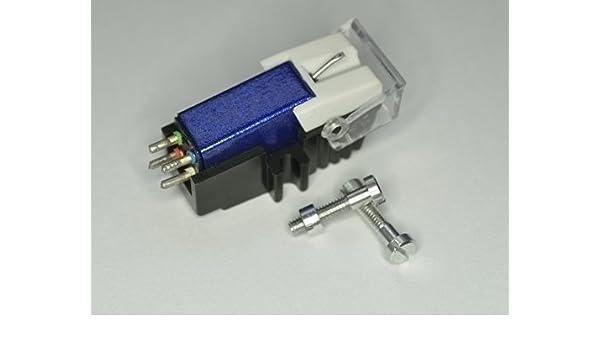 Azul Cartucho y diamante lápiz óptico con the correctos tornillos ...