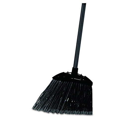 Rubbermaid Commercial Executive Series Lobby Broom, Vinyl Handle, Black (FG637400BLA) ()