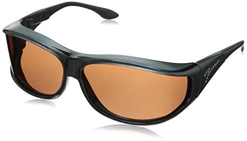 Vistana Polarized Jeweled Fitover Medium Sunglasses