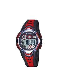 Kids Digital LED Watch Children Waterproof Sports Outdoor Wristwatch for Boys Girls Red
