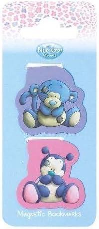 Me To You My Blue Nose Friends-Segnalibro magnetico, confezione da 2