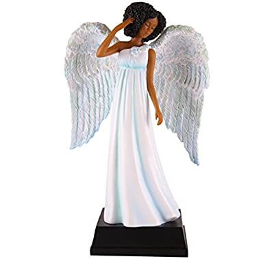 "African American Expressions - Blue Angel Collectible Figurine (5.5"" x 2.75"" x 8.75"") FAN05"