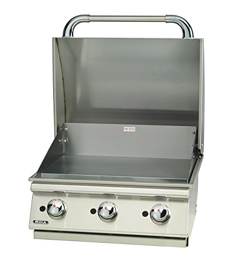 "Bull Outdoor Products 24"" Commercial Style built in Griddle(LIQUID PROPANE) by bull 24'' Commercial Style Griddle"