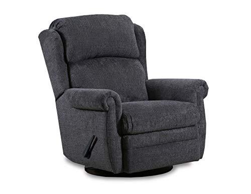 Lane Home Furnishings Heat & Massage GLIDER RECLINER, grey (Lane Furniture Sterling)