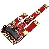 Ableconn MPEX-134B Mini PCIe Adapter with M.2 Key B Slot - Support USB/PCIe / SATA Based M2 B Key or B-M Key Module for Mini PCI Express