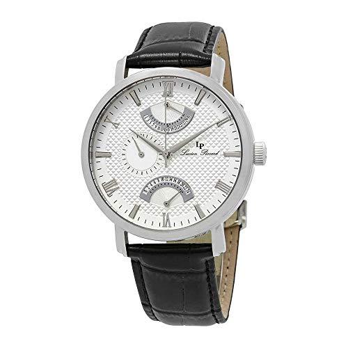 Lucien Piccard Men's LP-10340-02S Verona Analog Display Quartz Black Watch