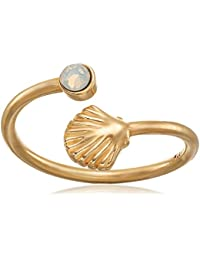 Shell Wrap Ring, Size 5-7