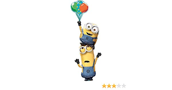 """Large Despicable Me Minion Dave balloon 36/""""  Super Shape party birthday"""