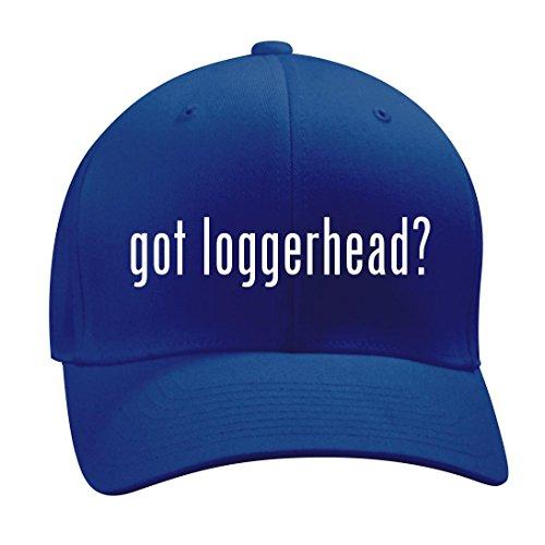 got loggerhead? - A Nice Men's Adult Baseball Hat Cap, Blue, Small/Medium