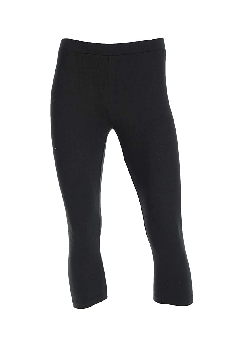 Neovic Mens Athleisure Ultra Soft Knit 3//4 Mid Calf Yoga Pants Base Layer Casual Solid Leggings S-XL