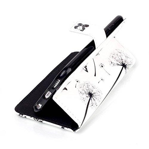 COWX Leder Hülle für Apple Iphone 6S (4.7 zoll) Schutzhülle Handyhülle Taschen Schalen Handy,iphone 6s leder flip case,iphone 6s schutzhülle,für iphone 6s Tasche Mit 1x Reinigungstuch