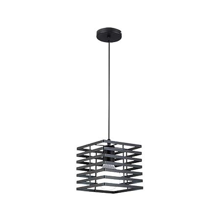 Amazon.com: Bagood Lámpara colgante de hierro moderno para ...