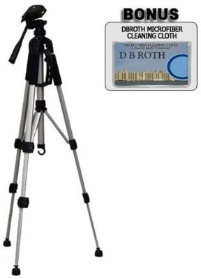 Deluxe Pro 57 Camera Tripod with Tripod Carrying Case For The Canon Powershot A2200 S A3300 IS Digital Camera A3200 IS