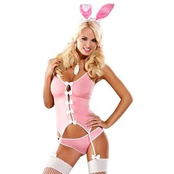 Obsessive - Bunny Anzug Kostüm Pink