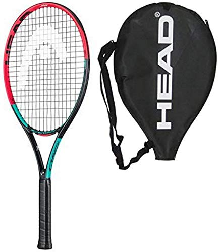 HEAD 2019 IG Gravity 25 Junior Tennis Racquet - Strung with Cover (Racquet Cover Tennis 25)
