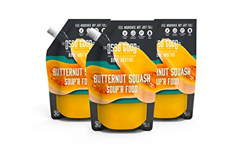 - Osso Good - Butternut Squash Soup, Made with Organic Chicken Bone Broth, Paleo Certified, Dairy Free & Gluten Free (6 Count)