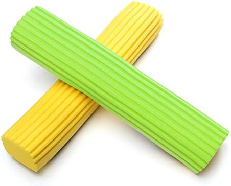 Tivollyff 接着剤の綿の世帯のスポンジのモップの頭部の結め換え品のモップのパッドのための取り替えのスポンジの頭部のモップのスクイズ水綿のモップの頭部