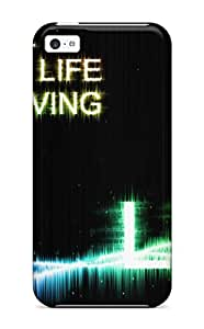 John B Coles's Shop New Fashion Premium Tpu Case Cover For Iphone 5c - Lifeislife 71TQUS0OGSRXJK4L