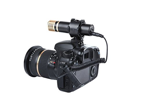 Movo VXR200 HD Stereo X/Y Condenser Mini Capsule Microphone for DSLR Video Cameras by Movo