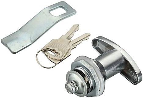 Yongse MS305-1 Vitrina Vitrina puerta corredera de cristal de cierre con llave pequeña eléctrico Gabinete Lock: Amazon.es: Bricolaje y herramientas