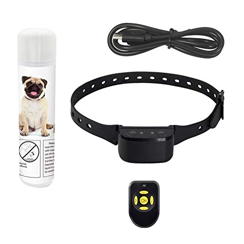 Forart Rechargeable No Bark Spray Collar Pet Citronella Anti Bark Collar Training Device Trainer for Dogs