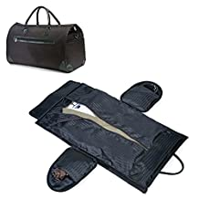 "Garment Bag, 37"" Golden Pacific Travel Garment Bag Convertible To Duffle Bag."