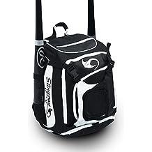 Baseball/Softball Backpack by Stingray | Adult/Youth | Boys/Girls | Catchers Gear | Helmet Holder | Fence Hook | Bat Equipment Bag for Batting Gloves | Also Suitable for Kids Tee Ball Sports Pack