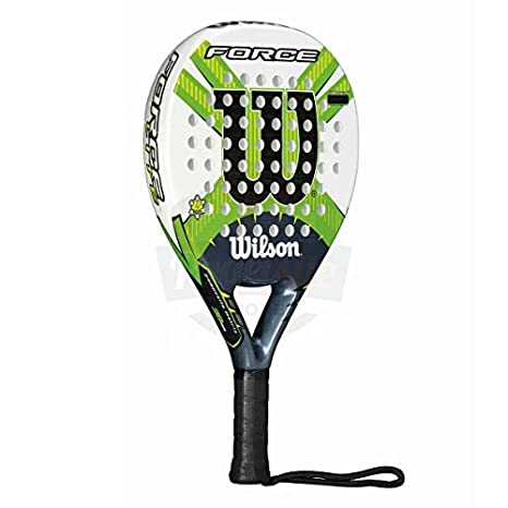 Wilson Force Paddle - Raqueta , color blanco / negro / verde, talla 2: Amazon.es: Deportes y aire libre