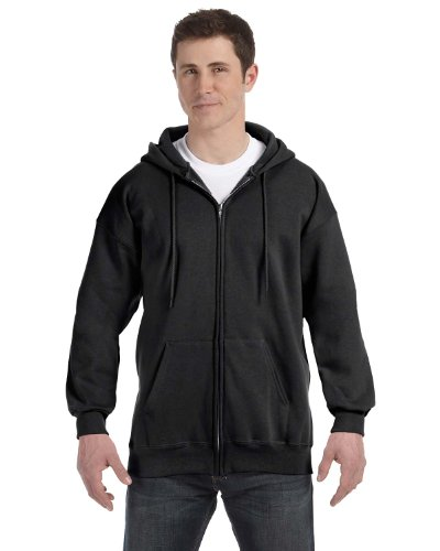 Mens 10 Oz Hooded Fleece - 3