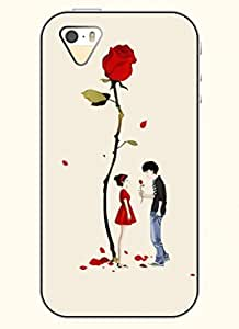 OOFIT Phone Case design with Boy's Confession-Red Rose Case For HTC One M7 Coverg