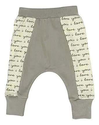 Cat & Dogma Organic Cotton Unisex Baby Pants - - 0-3 Months