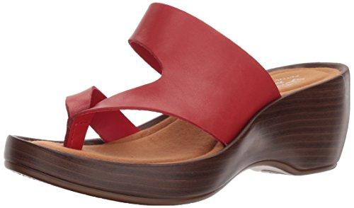 (Eastland Shoes Laurel Sandal, RED, 9 M)