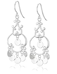 Sterling Silver French Wire Drop Earrings