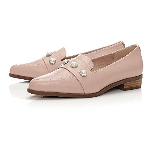 Moda in Pelle Zapatos de Vestir Para Mujer Beige Color Carne color carne