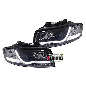 europetuning - 02735 - Luz Faros Avants negros Tubo LED Light Bar A4 B6 8E: Amazon.es: Coche y moto
