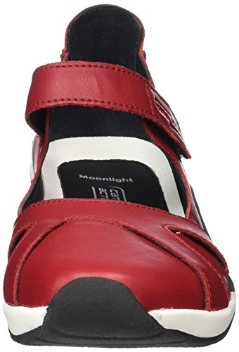 camel active Moonlight 71 - Ballerine Donna, Rosso (Red 07), 42 EU