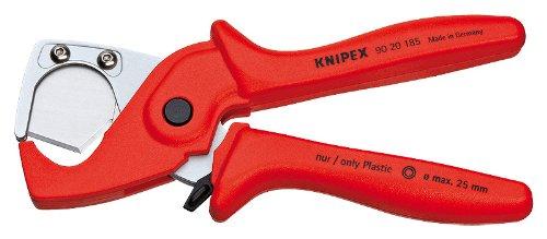 Knipex 90 20 185 Coupe-tube pour flexibles et gaines de protection
